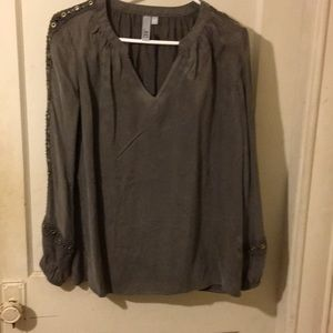 NWT Kut from the Kloth olive green top